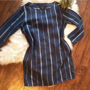 Rails Mason Striped dress